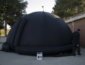 Planetario en el exterior